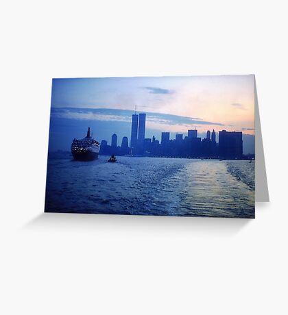 New York City Dawn Greeting Card