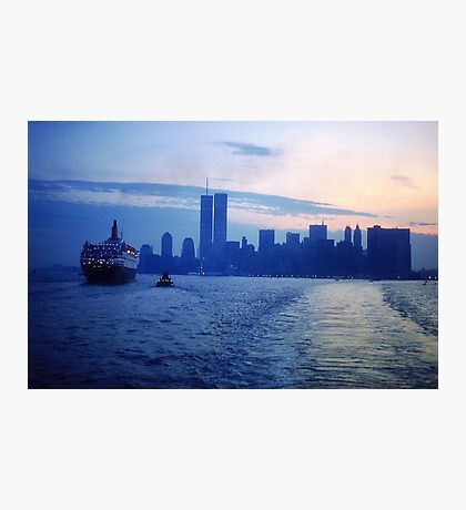 New York City Dawn Photographic Print