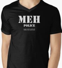 MEH Police Men's V-Neck T-Shirt