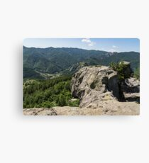 The Spine of the Mountain - Rough Rocks and Vistas Canvas Print
