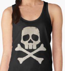 Captain Harlock Skull Women's Tank Top