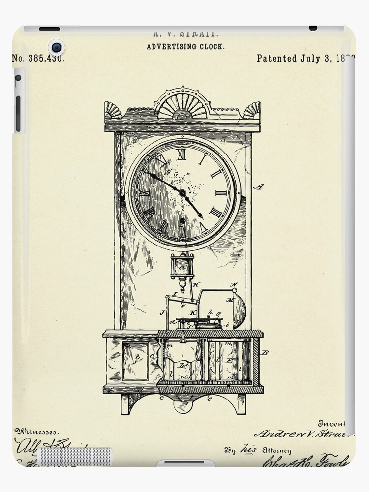 Advertising Clock-1888 by paulrommer