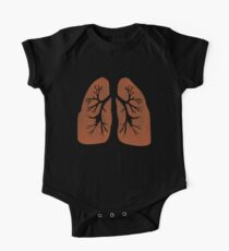 Lungs. One Piece - Short Sleeve