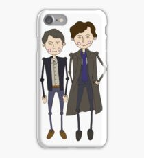 Benedict Cumberbatch's Sherlock inspired design iPhone Case/Skin