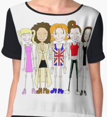 The Spice Girls inspired design Women's Chiffon Top