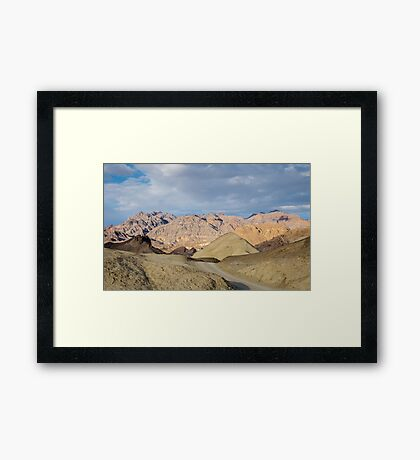 Road to Borax - Death Valley Framed Print