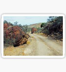 A Road Less Travelled Sticker