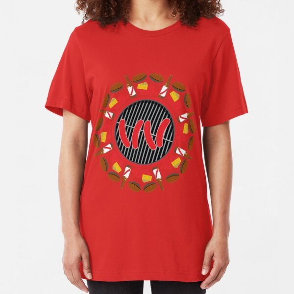 Ultimate Wisconsin Tailgate Slim Fit T-Shirt