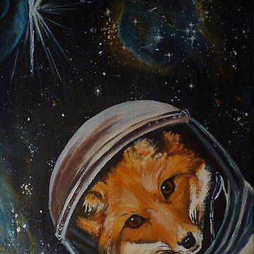 Spacefox by MaeP