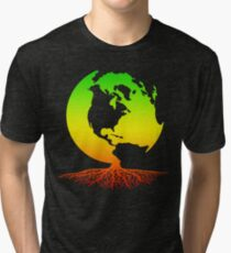 Mother Earth Roots Tri-blend T-Shirt