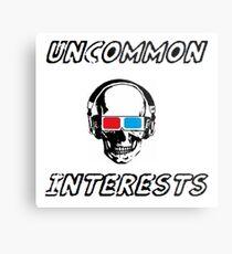 Uncommon Interests Logo 3 Metal Print