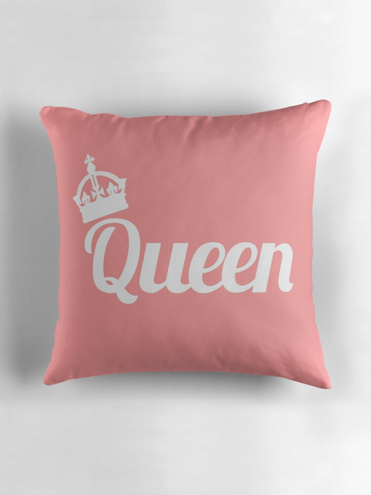 Queen Throw Pillow :