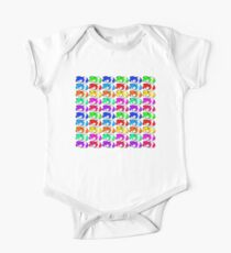 Rainbow hamster One Piece - Short Sleeve