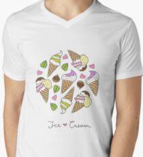 cartoon ice cream cones  T-Shirt