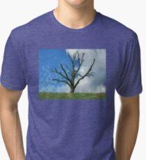 Trimmed Tree Tri-blend T-Shirt