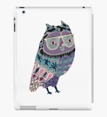 Smart Night owl iPad Case/Skin