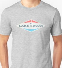 LAKE OF THE WOODS RETRO TSHIRT Unisex T-Shirt