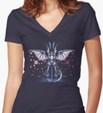 Blood Or Bonds Women's Fitted V-Neck T-Shirt