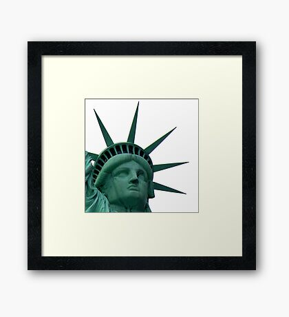 Miss Freedom ~ Part Two Framed Print