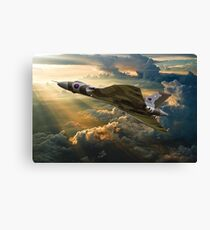 2015 the last flight Canvas Print