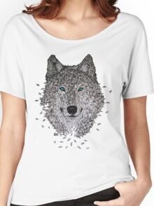 Vector Wolf Women's Relaxed Fit T-Shirt