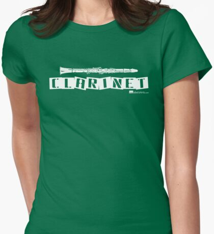Label Me A Clarinet (White Lettering) T-Shirt