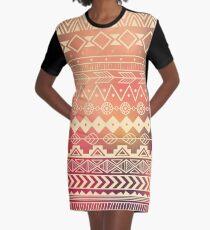 Aztec pattern 01 Graphic T-Shirt Dress