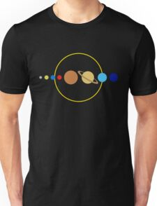 Planets and Sun Unisex T-Shirt