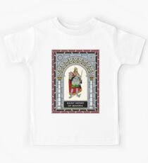 ST HENRY OF BAVARIA under STAINED GLASS Kids Tee