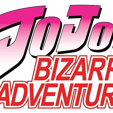 Jojo's Bizzare Adventure - English Logo by BoringSoda