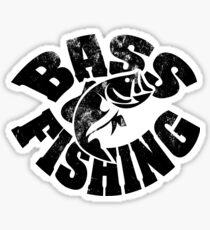 Bass Fishng Sticker