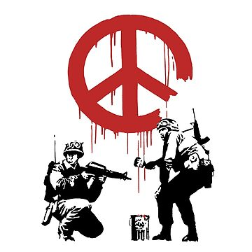 banksy_peace by MarcusTiger