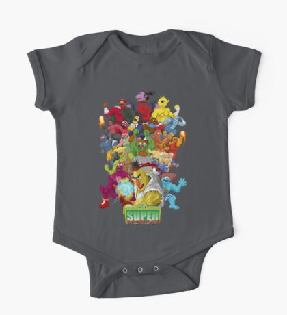 Super Sesame Street Fighter Kids Clothes