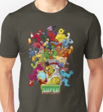 Super Sesame Street Fighter T-Shirt