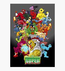Super Sesame Street Fighter Photographic Print