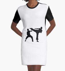 martial arts Graphic T-Shirt Dress
