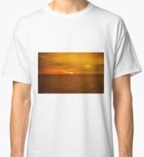 Sunset on the Caribbean Sea Classic T-Shirt