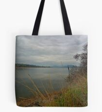 Lake hume in the evening Tote Bag