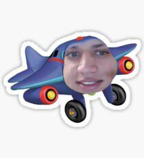 Tyler the jet engine Sticker