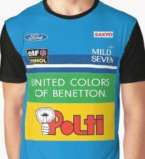 GP2 Tribute - Benetton Graphic T-Shirt