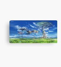 SAO - Fairy Dance Landscape Canvas Print