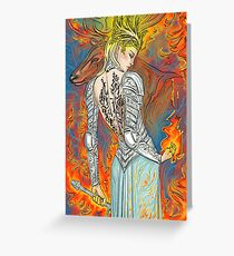 Fireheart Greeting Card