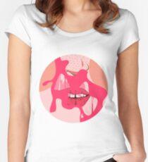Bubblegum Pop Women's Fitted Scoop T-Shirt