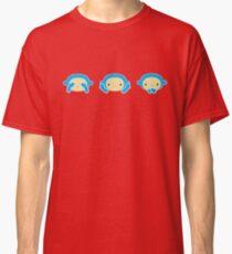 3 Wise Monkeys Classic T-Shirt
