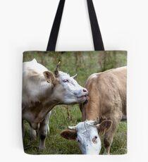 Bovine Buddies Tote Bag
