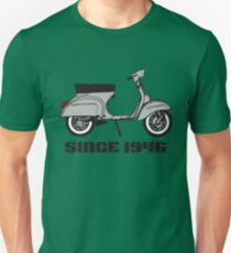 mod mods vespa motor bike retro vintage punk rock pop T-Shirt