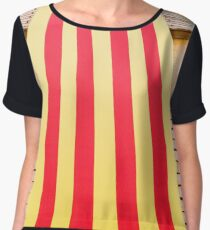 Catalan Colors Chiffon Top