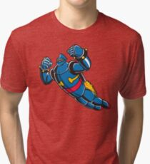 Gigantor the space age robot Tri-blend T-Shirt