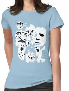 Horror Icons! Womens Fitted T-Shirt