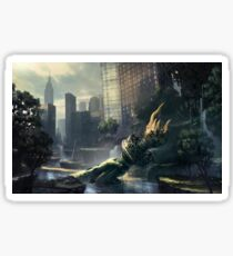 Crysis - New York Landscape Sticker